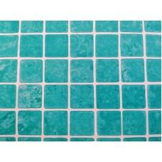 Liner mozaicat 1.5mm  verde caraibe