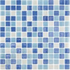 Mozaic Mix Albastru Marin 2