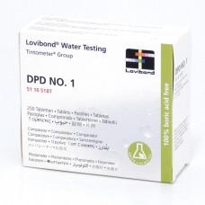 Tablete reactivi DPD 1 Lovibond - 250 pastile