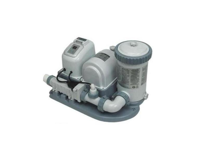 Generator de clor cu pompa de filtrare 7.57 m3/h pentru piscine supraterane