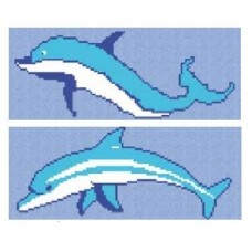 Decoratiuni Mozaic Vidrepur, model Delfin