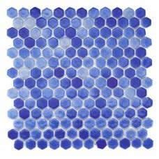 Mozaic de sticla hexagonal BP-591
